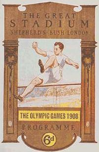 Logo da Olimpíada Londres 1908