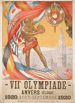 Logo da Olimpíada Antuérpia 1920