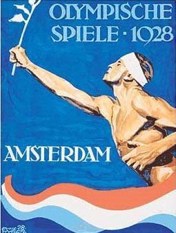 Logo da Olimpíada Amsterdam 1928