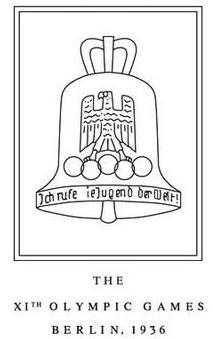 Logo da Olimpíada Berlim 1936
