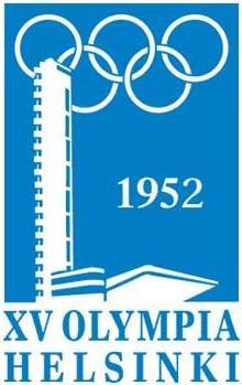 Logo da Olimpíada Helsinque 1952