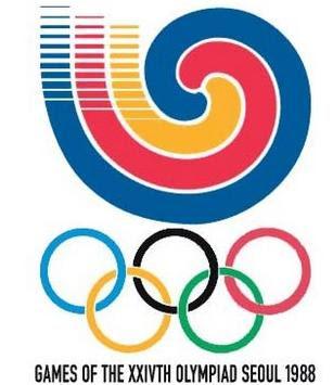 Logo da Olimpíada Seul 1988
