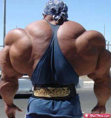 Corpo deformado de Músculos