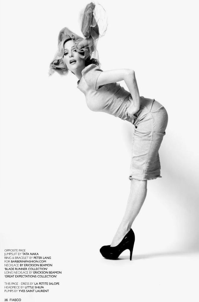 Fiasco Magazine Gillian Anderson. X Files alum Gillian Anderson