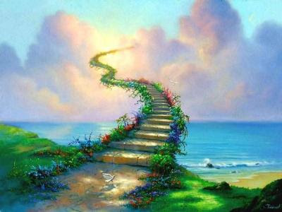 Resultado de imagen de Escalera hasta el infinito