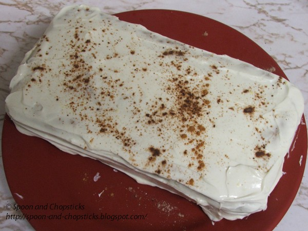 Spoon and Chopsticks: Banana Loaf with Light Cream Cheese ...