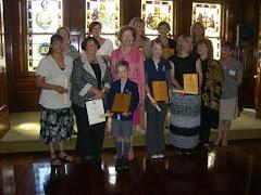 Recipients of the Children's Week Awards