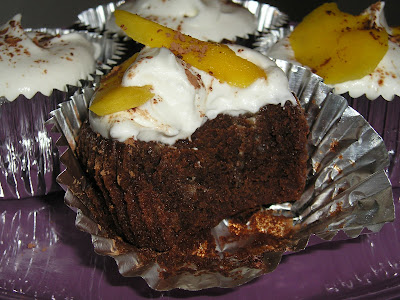 So it seems that these Chocolate Rum Mango Cupcakes were destined to ...