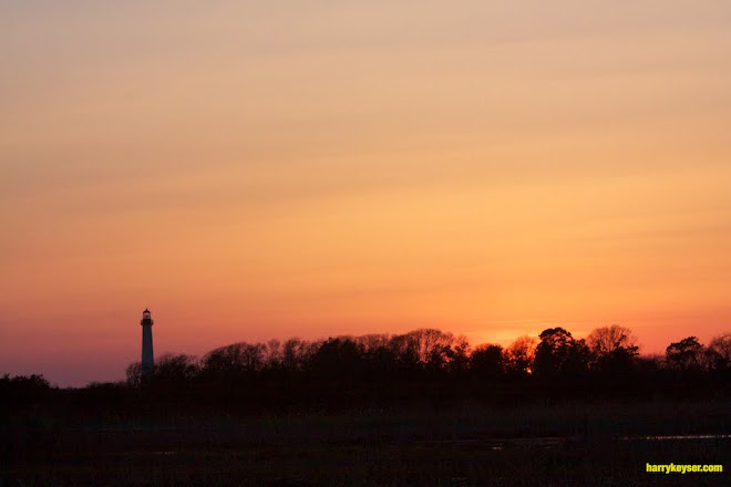 Cape May Light House at sunset