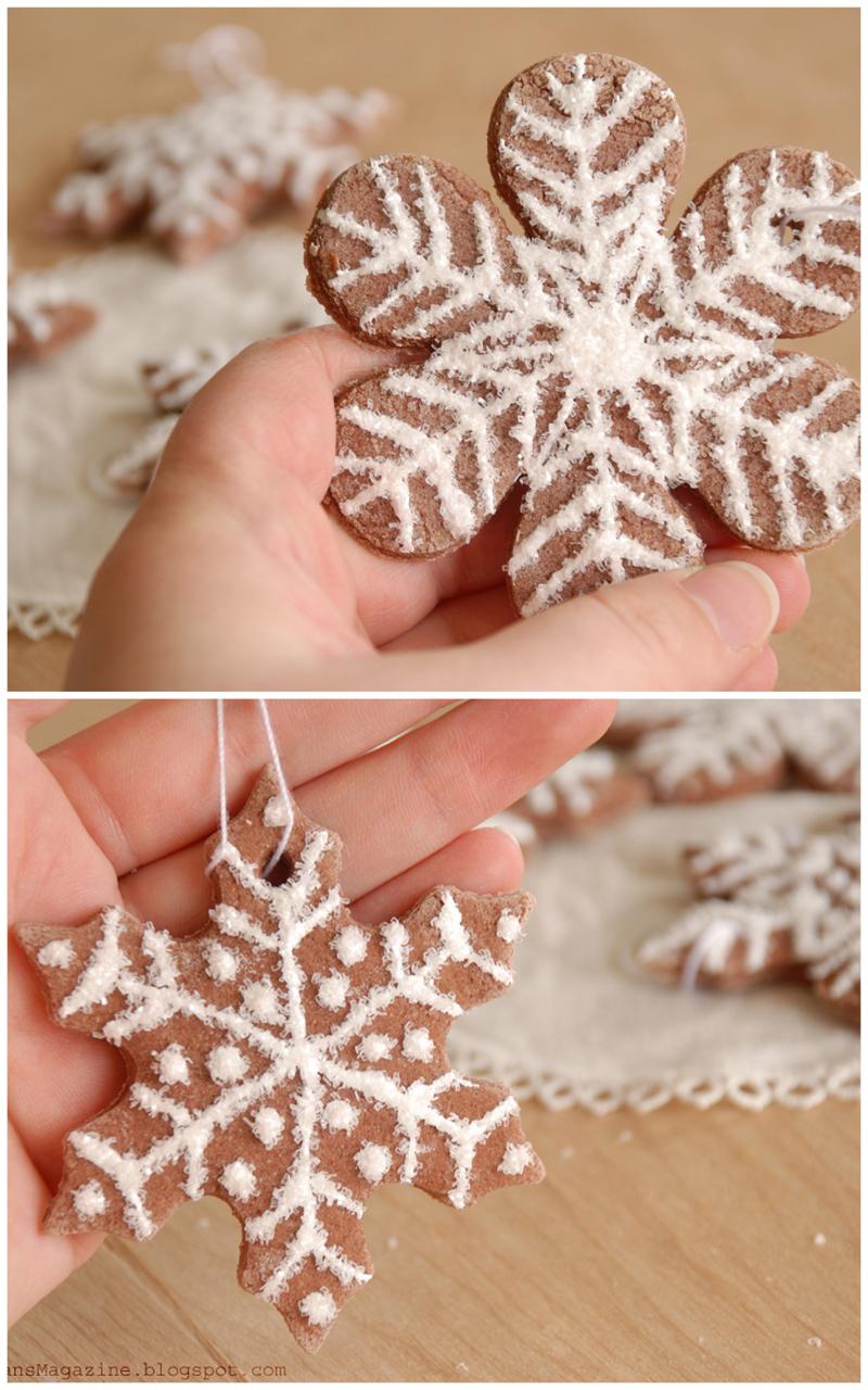 How To Make Sour Dough Christmas Decorations : Lorajean s magazine tutorilal how to make christmas