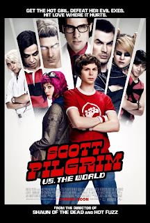 Scott Pilgrim Vs The World Poster Internacional