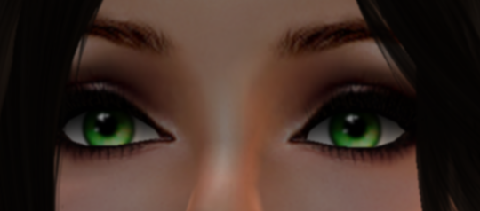 above: SLink Eyescream Deep Green. above: SLink Eyescream Flecked Green