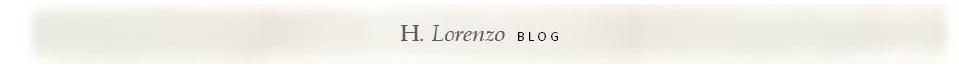 H.Lorenzo  |  Blog