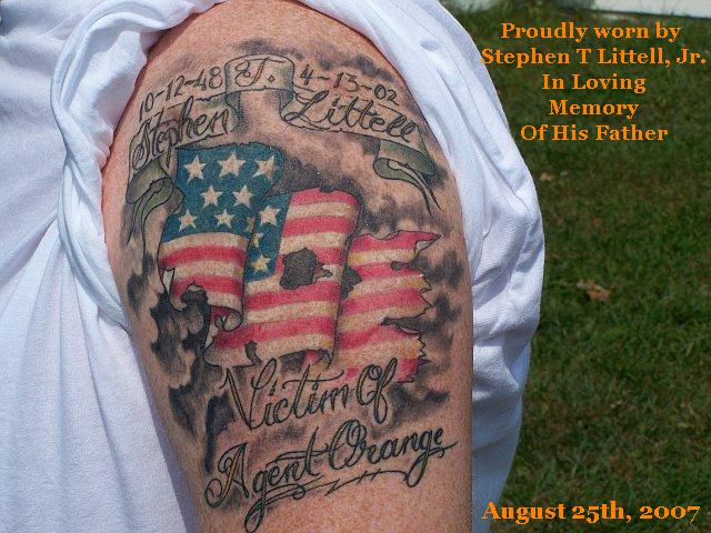 In Loving Memory Tattoo Designs Dad Tattoo Designs