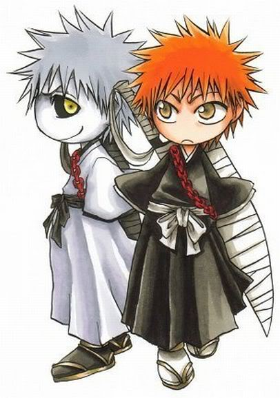 It's just a little CRUSH: Chibi Bleach characters~♥♥♥♥