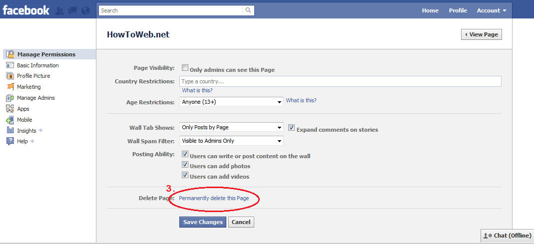 how to deactivate facebook account - 43.1KB
