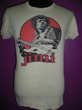 "Vtg Jimi Hendrix 70"""
