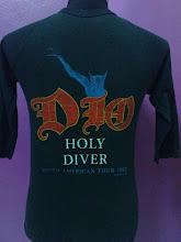 "Vintage Dio Crew 83"" 3/4 shirt"