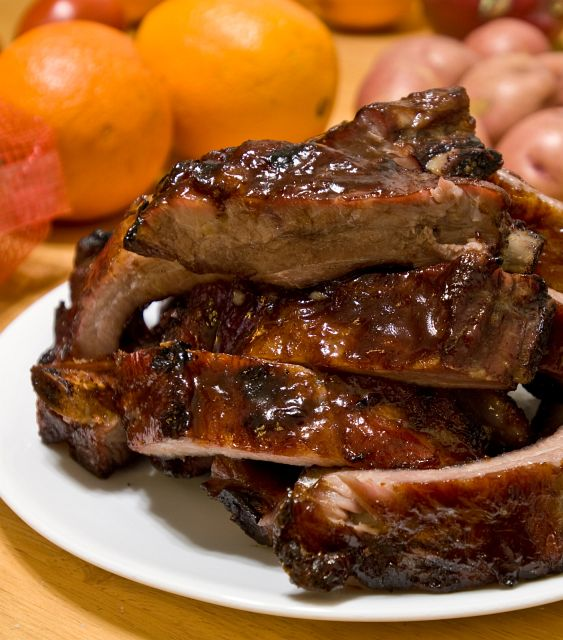 How to Grill Downeast Pork Ribs: 5 steps - wikiHow