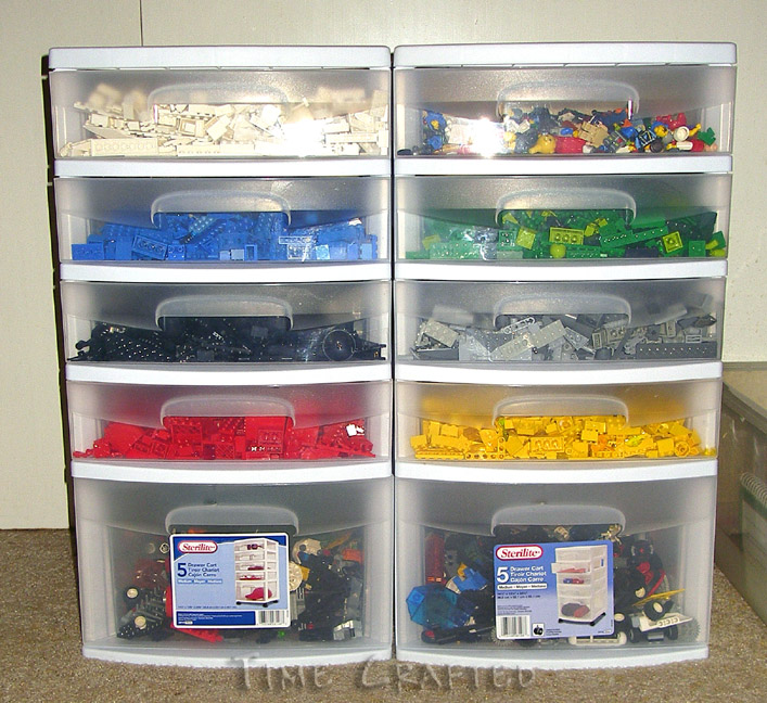Time Crafted: From Lego Landslide to Organized!