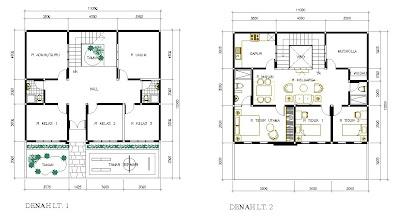 Desain Rumah Sekolah