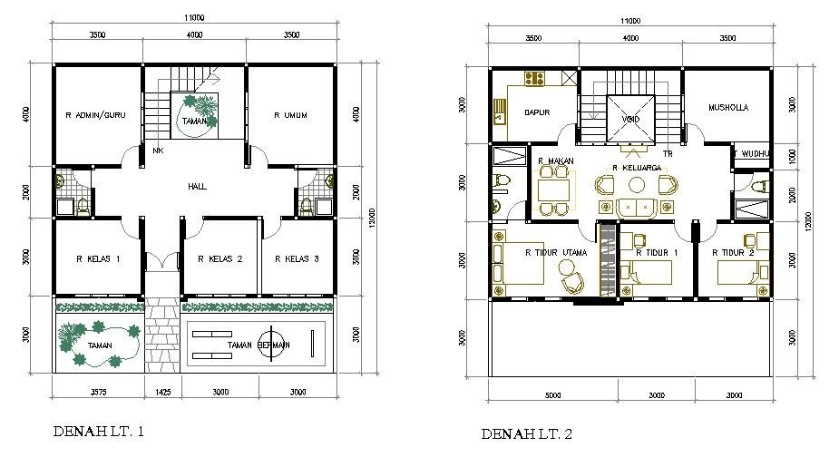 Desain Rumah Minimalis Desain Rumah Sekolah