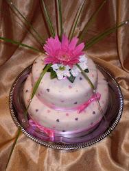 Élővirágos torta2