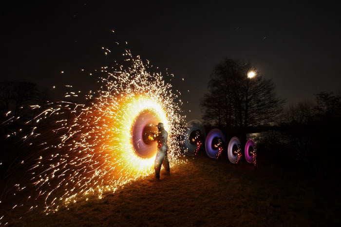 amazing light show photos