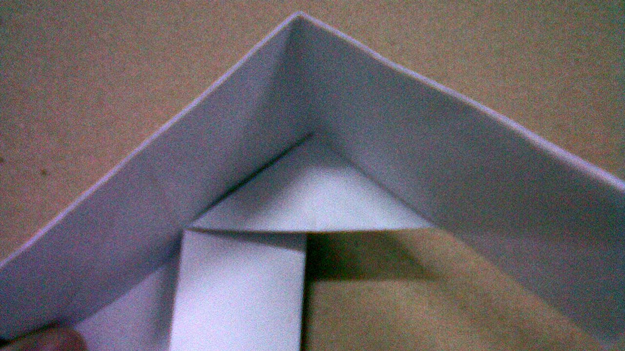 Fold  Square Box with Lid ,fold paper,craft for kid, reuse paper,recycle paper