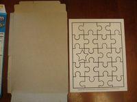 วิธีทำ จิ๊กซอว์ ตัวต่อภาพ jigsaw  กล่องกระดาษ กล่องซีเรียล ของเล่น กล่องอาหารเช้า บรรจุภัณฑ์ ของใช้แล้ว ลดขยะ รีไซเคิล วัสดุเหลือใช้ ไอเดีย how to diy ลดโลกร้อน โลกสีเขียว โครงงาน กระดาษ กระดาษใช้แล้ว recycle reuse