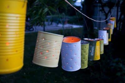 วัสดุเหลือใช้  เทียน  กระป๋องใช้แล้ว diy e recycle ลดขยะ  แปลก ไอเดีย idea ของใช้แล้ว