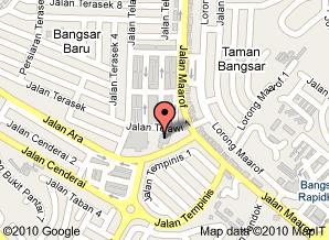 Map ke Masjid Bangsar