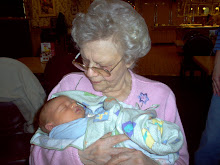 Matty got to meet Great Grandma