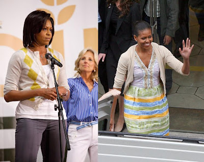 Choice Fashion Tracy on Fashion  Lifestyle And Beauty  Cardigan  Michelle Obama S Style