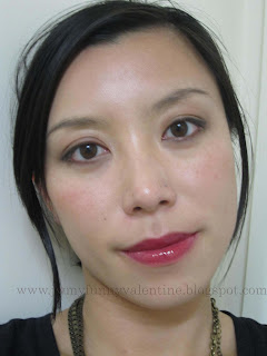 YSL Gloss Pur in Pure Plum FOTD