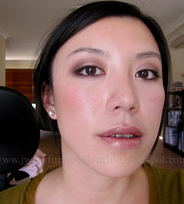 neutral purple eye makeup FOTD with NARS Ondine eyeshadow
