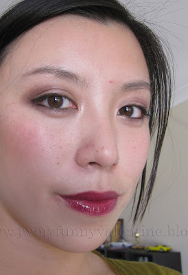 FOTD with NARS Ondine eyeshadow and NARS Bougainville lipgloss