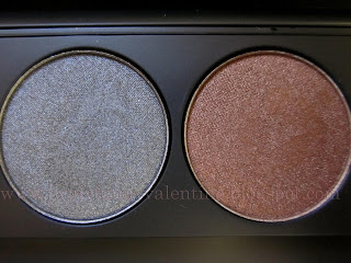 Inglot eye shadows Pearl 451, Pearl 421