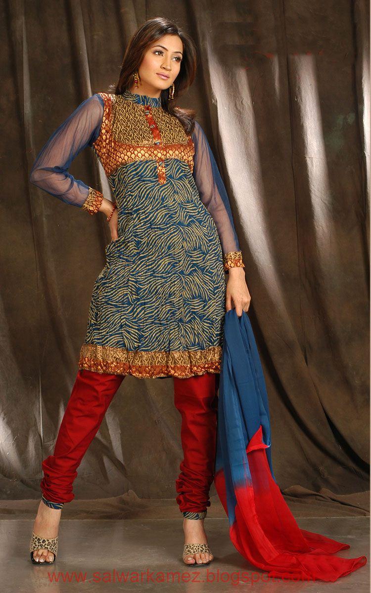 salwar kameez pakistani models wearing churidaar salwar kamez. Black Bedroom Furniture Sets. Home Design Ideas