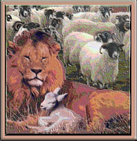 The presence of a single lion does not indicate that sheep are carnivorous, while the sheep do not render the lion herbivorous.