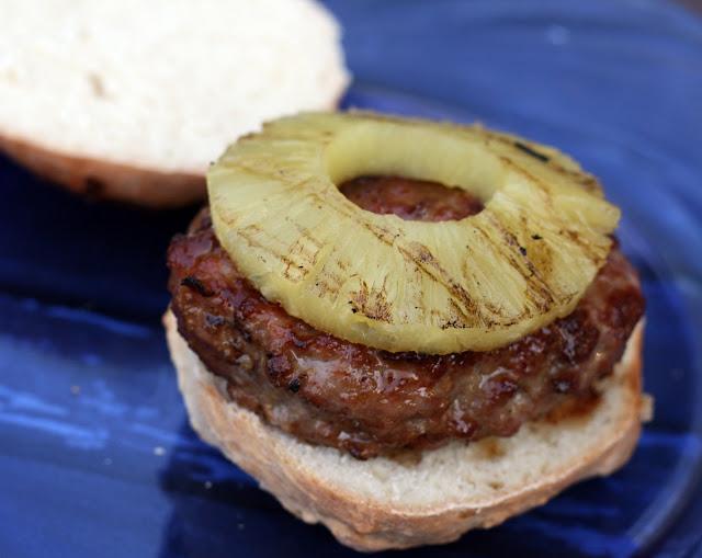 Recipes by Rachel Rappaport: Hawaiian Style Pork Burgers