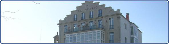 Cabinas De Ducha En Galicia:Turismo Galicia: Balneario Acuña en Caldas de Reis