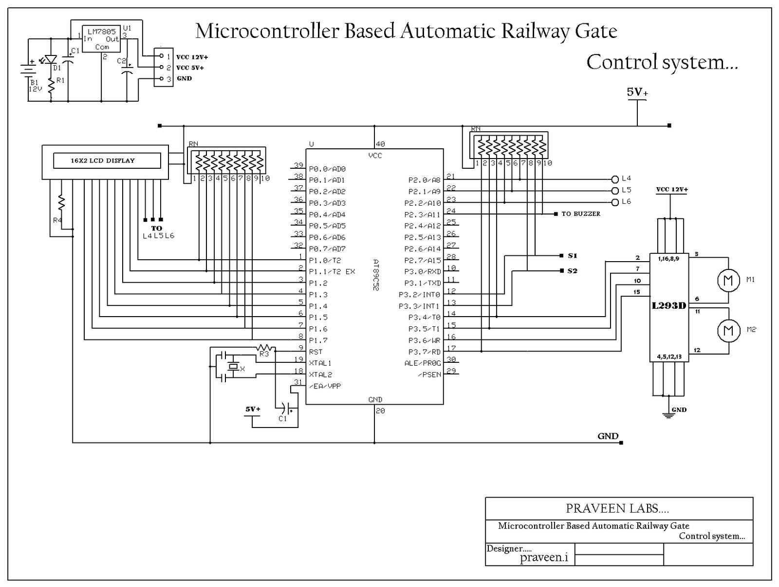 automatic railway gate control Other names include railway level crossing,  don't have automatic gates,  with conventional railway block instruments to the control tower.