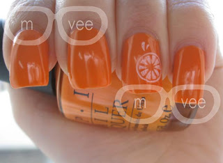OPI - In My Back Pocket swatch@ milanandvanaily