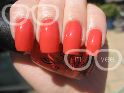 China glaze high hopes swatch