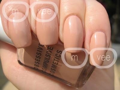Obessive Compulsive Cosmetics nail polish Hush