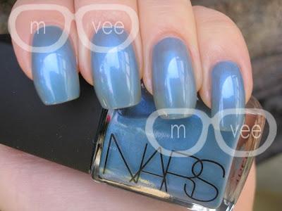 NARS Blue Lagoon swatch