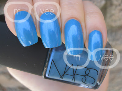 Nars Vintage collection, OPI No Room for the Blues