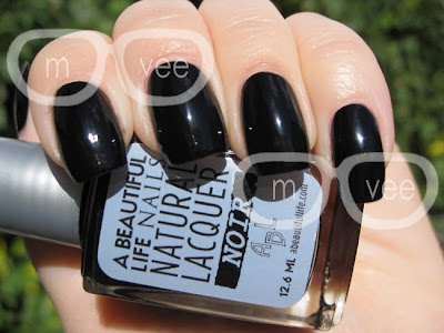 A Beautiful Life Noir swatch