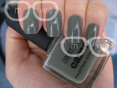 picture polish dusty green nail polish
